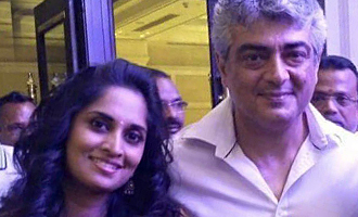 Ajith and Shaini at a family function