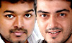 Vijay, Ajith spotted together!