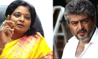 Tamilisai Soundarajan reacts to Thala Ajith's statement