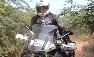 Thala Ajith's latest offroading video goes viral!
