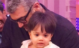 Thala Ajith's son Aadvik stuns with his style just like his dad in latest viral photo