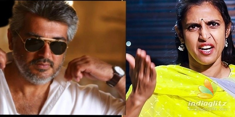 Kasthuri goes to war with alleged Ajith fans for passing dirty and obscene comments