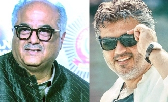 Ajith in valimai first look poster on May 1