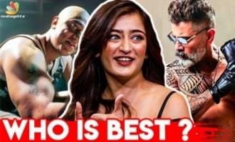 Kamal vs Vikram - Who Has The Best Body? : Akshara Haasan Interview