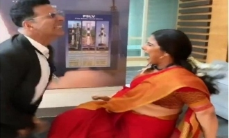 Vidya Balan kicking Akshay Kumar below the belt video goes viral