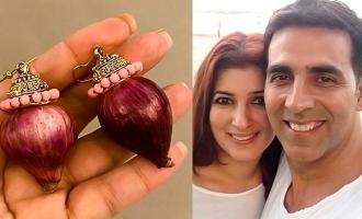OMG! Akshay Kumar gifts onion earrings to wife
