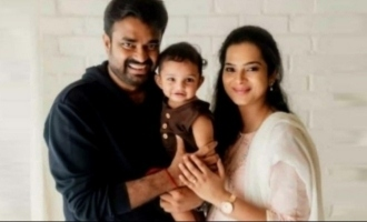 Director Vijay's son's first birthday celebration photos are absolutely cute