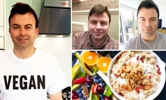 Ex-alcoholic who almost died turns his life around by going vegan