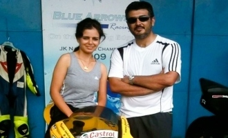 Thala Ajith fan and racer Alisha takes a new avatar!
