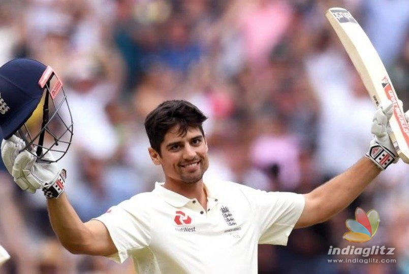 Alistair Cook creates a rare record against India in his final test