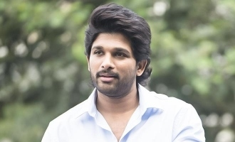 Allu Arjun enjoys long drive with wife  and kids - Video goes viral