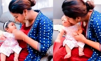 Alya Manasa's cutest video with her baby will brighten your day!