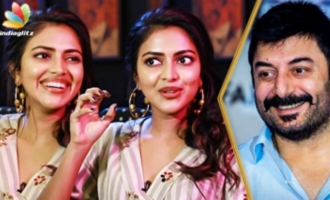 Amala Paul wants to assist Aravind Swamy