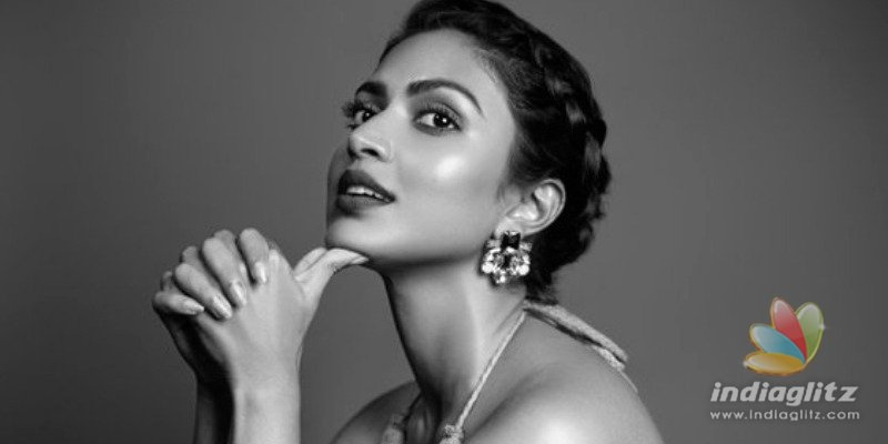 Amala Paul kissing in the rain video goes viral