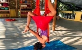 Amala Paul's upside down floating video and pics fires up the internet