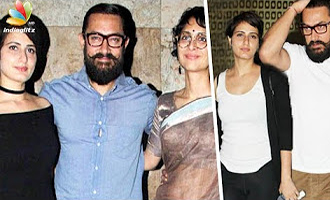 Aamir Khan wife UPSET With her Husband's Closeness With Dangal Actress Fatima?