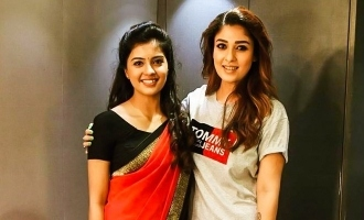 Nayanthara surprises Bigil actress with a special surprise!