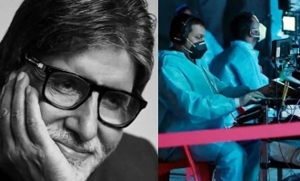 Amitabh Bachchan Back on The Sets Amid Strict Precautions Against COVID19