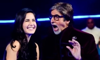 Amitabh Bachchan shared a throwback picture with Katrina Kaif with a witty caption.