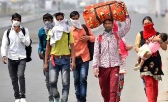 1000 புலம்பெயர் தொழிலாளர்களுக்காக 6 விமானங்கள் ஏற்பாடு செய்த சூப்பர் ஸ்டார் நடிகர்