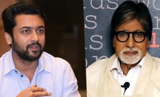 Suriya makes Amitabh Bachchan cry and pen a highly emotional note