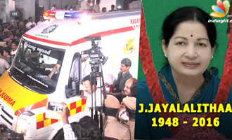 Jayalalithaa is Dead : CM's Body brought to Poes Garden from Apollo Hospital