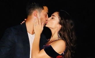 Pregnant Amy Jackson celebrates special day with husband - pics