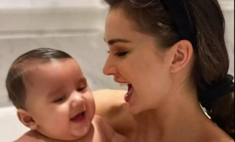 Amy Jackson declares how she will bring up her son and future children