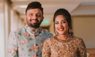 ஆனந்த் சங்கருக்கு இன்ப அதிர்ச்சி அளித்த மனைவி: படக்குழுவினர் ஆச்சரியம்