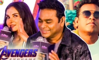 Avengers Director Reaction for Marvel Anthem : AR Rahman Speech
