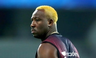 It's ok not to be ok: KKR player Andre Russell shares picture with alcohol bottle, fans worried