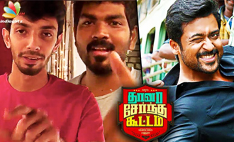 Anirudh & Vignesh Shivan singing TSK songs!