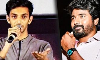 Sivakarthikeyan haters will also love it - Anirudh speech