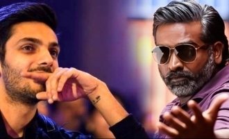 Valentine's Day treat! Vijay Sethupathi's double love failure song by Anirudh for 'KVRK'