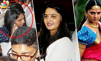 Anushka visits temple in her Native after Bahubali 2 success