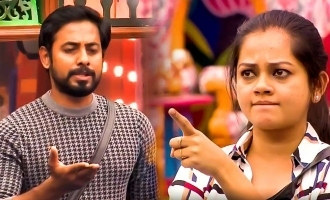 """""""Don't speak about my family"""" Anitha shouts at Aari in Bigg Boss 4!"""