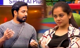 Aari pays a  sudden visit to Anitha Sampath's house
