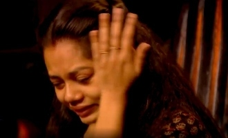 Biggboss Tamil season 4 Anitha crying in confection room