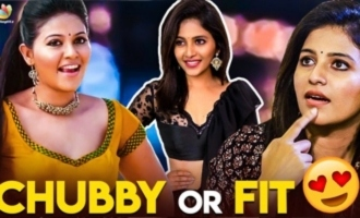 Chubby Or Fit ? Anjali's Question To Her Fans
