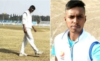 Young cricketer dies on field