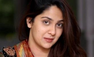 நியூஜெர்ஸியில் ரொம்ப மோசம்: சுந்தர் சி நாயகியின் பதட்டமான வீடியோ