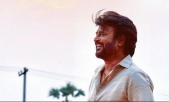 Superstar Rajinikanth's mass photo from shooting spot officially released
