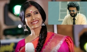 Did you know singer Anuradha Sriram has acted with Rajinikanth? photos go viral