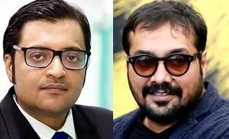Anurag Kashyap celebrates birthday by giving shocking award to Arnab Goswami!