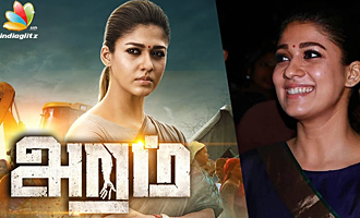 Nayanthara helped behind the cameras during Aramm shoot : Press Meet Speech