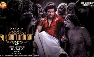 Most unexpected twist about the ghost in Sundar C's 'Aranmanai 3' revealed