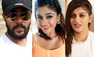 Oviya and Yashikaa Aanand give a boost to Arav