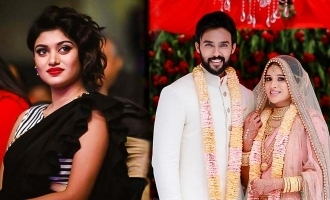 Is this the advance reaction of Oviya to Aarav -Raahei marriage?