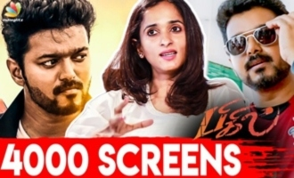 Tamil Rockers can never get 'Bigil' - Archana Kalpathi challenge interview