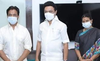 தமிழக முதல்வரை சந்தித்த ஆக்சன்கிங் அர்ஜூன்!